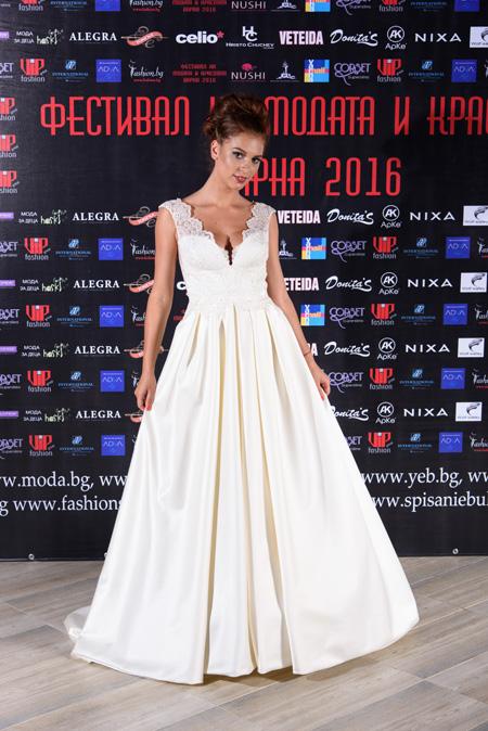 Колекция Wearing the Dream на Сватбен бутик ALEGRA на Фестивалa на модата и красотата Варна