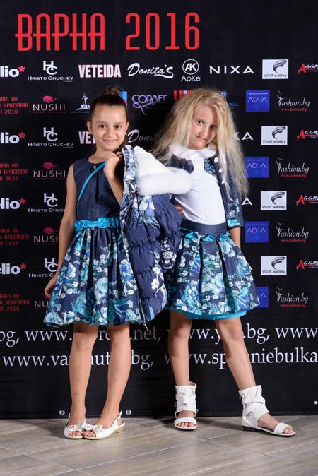 Мода за деца от Family Haski на Фестивалa на модата и красотата Варна