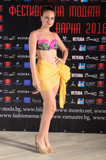 """Луксозно дамско бельо с марка """"Perfect"""" на Фестивалa на модата и красотата Варна"""