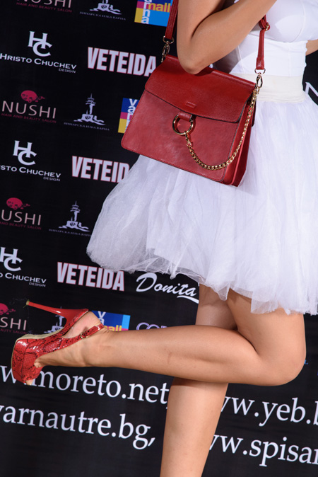 Обувки Sara Pen на Фестивалa на модата и красотата Варна