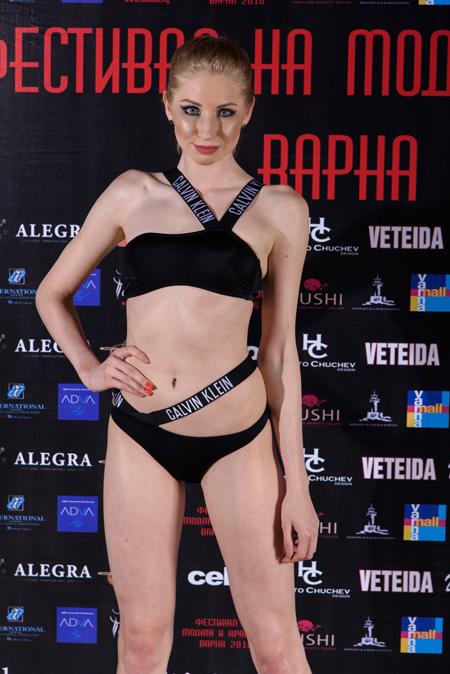 Колекция бельо и бански от SEVEN SECONDS на Фестивалa на модата и красотата Варна
