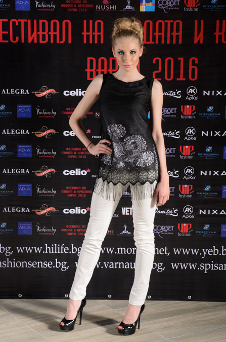 Колекция на Si Amore на Фестивалa на модата и красотата Варна