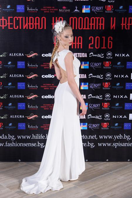 Колекция на Сватбен център на Фестивалa на модата и красотата Варна