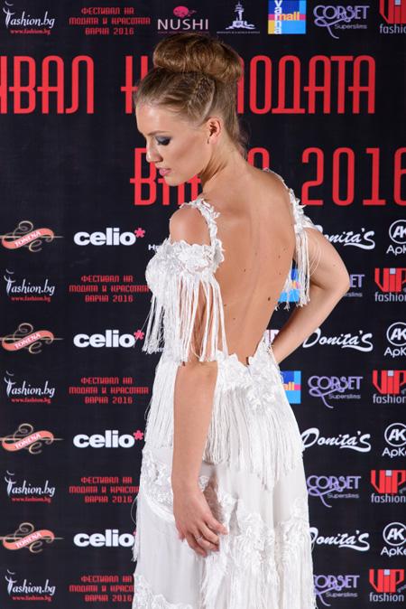 Бутикови облекла на Тонена на Фестивалa на модата и красотата Варна