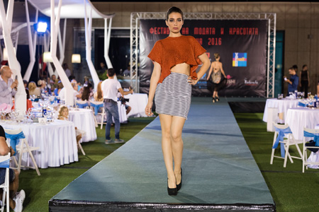Колекция на Wolf walley на Фестивалa на модата и красотата Варна