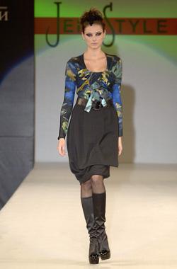 Жени Живкова представи екстравагантната зима