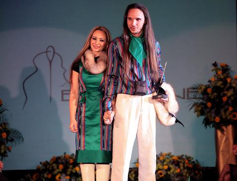 """Биляна и Петър Пелови (""""Бипоне"""") са победители в категорията """"Най-добър млад дизайнер"""""""