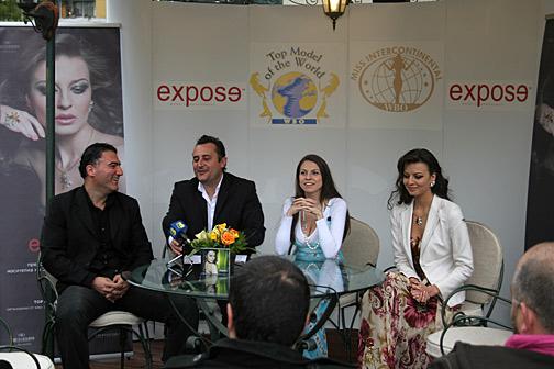 Роналд Дахер, Деян Петрески, Диана Великова, Диана Иванчева (от ляво на дясно)