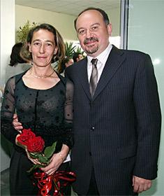 """Таня и Красимир Георгиеви – собственици на център за цветя """"Тилия"""""""