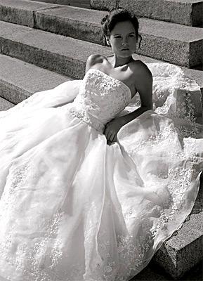 Как да изберете бельо за булчинската рокля?