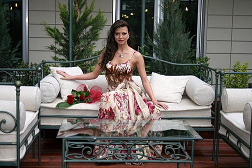 Диана Иванчева ще дефилира на най-дългото ревю върху вода