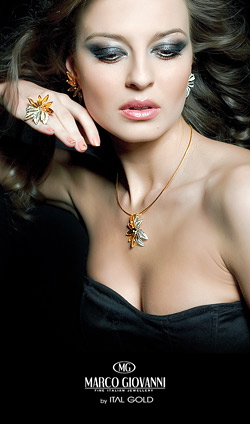 Диана Иванчева представя последната колекция луксозни бижута Marco Giovanni