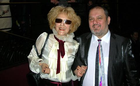 """Лили Червенякова заедно със сина си на концерта на Лили Иванова в зала """"Олимпия"""""""