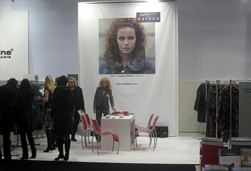 Маркам участва с колекцията си есен-зима 2009-2010 на най-голямото изложение за мода в света Колекцион премиер Дюселдорф