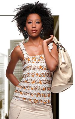 Модел на модна къща Маркам за лято 2009