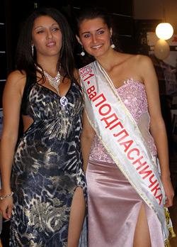 Първата подгласничка Кристина Борисова