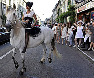 Мода на улицата в Швейцария