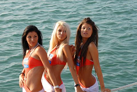 Вероника Стефанова (в дясно)