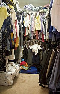 Да поддържаш гардероба си подреден
