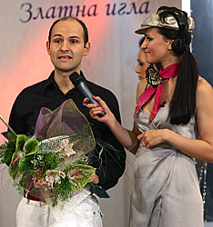 """Моден гримьор на 2006 година – Кирил Чалъков получава своята """"Златна игла"""""""