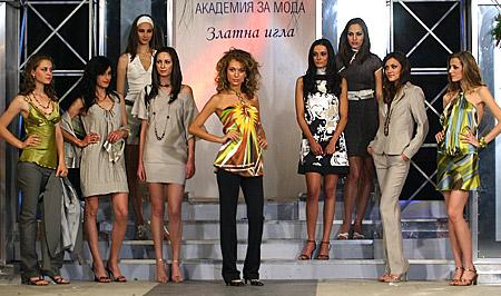 """Модели на модна къща """"Зебра"""""""