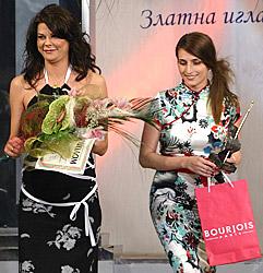 """Цвети Бранкова и Силва Борисова от """"Зебра"""" със Златната игла в ръце"""