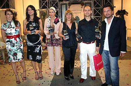 """Новите носители на """"Златна игла 2006"""" на Академията за мода"""
