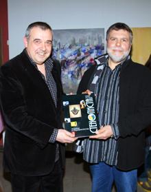 проф. Олег Гочев и проф. Любомир Стойков