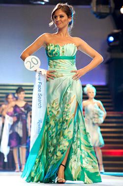 Моменти от шоуто на финала на Top models of Rosebud