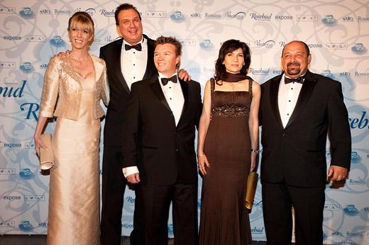 Майкъл Стромайтес (Big Mike), Робърт Хигинс и Евгений  Йорданов (от ляво на дясно)