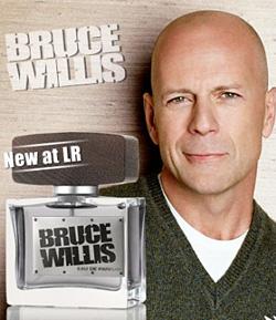 Брус Уилис пусна на пазара свой парфюм