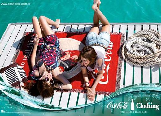 Модна линия от Coca-Cola
