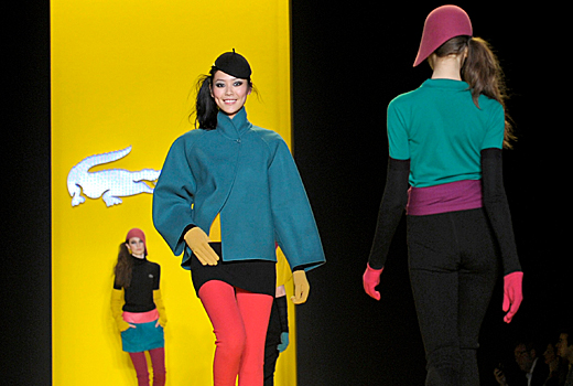 Lacoste – настроение и цвят в Ню Йорк