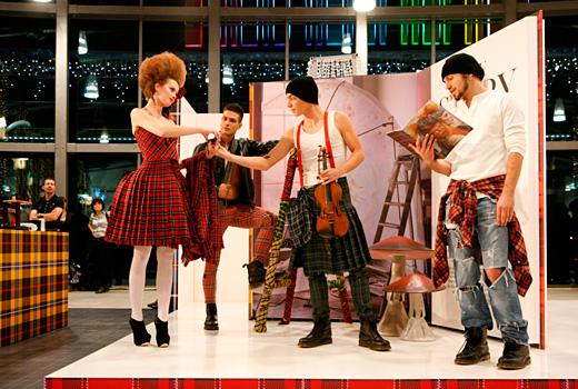 Коледните празници са Бал на Шотландското каре