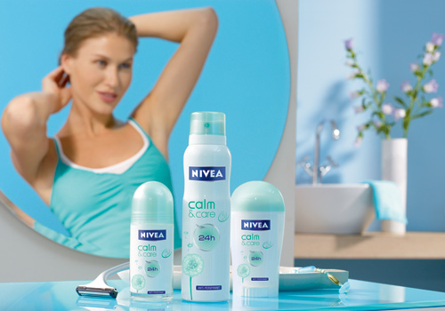 NIVEA DEODORANT Calm & Care