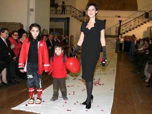 Гергана Стоянова с децата си Яна и Боян
