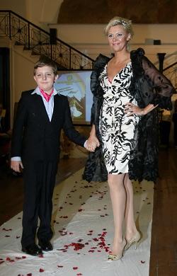 Олга Ускова и сина й Никита