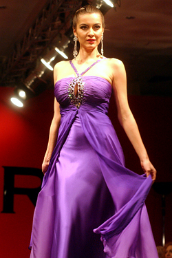 София Борисова с колекция LUXUS COUTURE 2010