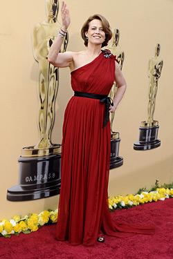 Розовото - доминиращ цвят на Оскарите