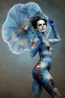 Body art - изкуството да рисуваш върху тяло