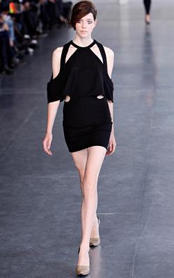 Ефирни материи на седмицата на модата в Париж
