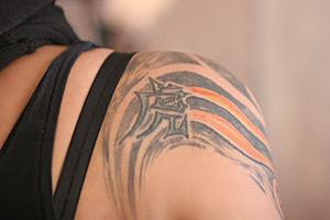 Тигърът - предпочитана татуировка