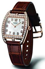 Cape Cod Tonneau - новият златен часовник от Hermès
