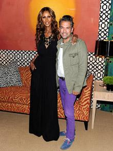 Карлос Мота си сътрудничи с IMAN Home по време на Седмицата на модата