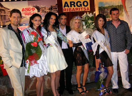 Победителките, заедно с Анатоли Анастасов, Цветомир Йотов и г-н Стелиян Атанасов