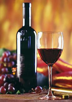 Червеното вино предпазва от мозъчен инсулт