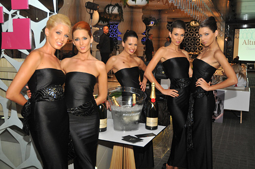 Модна Агенция VIP Fashion Group представи диамантена колекция на Altinbas