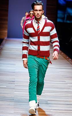 Мъжка мода есен-зима 2011-2012 от Долче и Габана