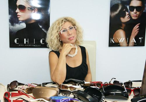 Силвия Кацарова си открадна очила