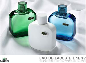 Lacostе представя парфюмерийна колекция L.12.12